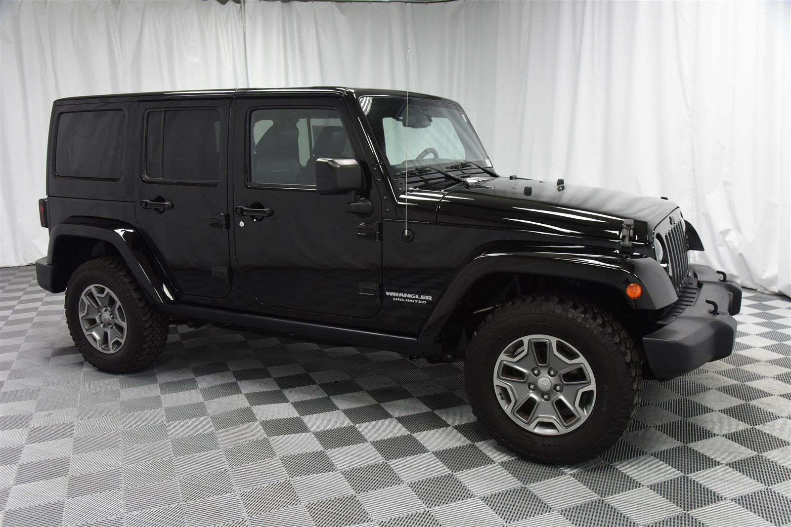 Pre Owned 2015 Jeep Wrangler Unlimited Rubicon 4x4